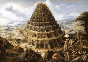 torre-300x211 La lingua universale prima della torre di Babele