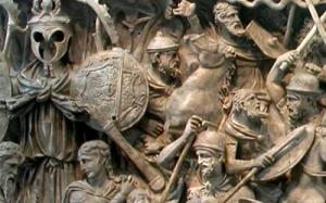 roma_barbari-300x187 Pittura, scultura e linguaggi di massa