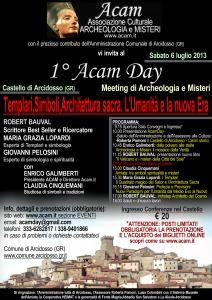 Acam-Day-smaller-212x300-1 1° ACAM DAY! Templari, Misteri Vaticani, Simboli, Architettura sacra. L'Umanità e la nuova Era