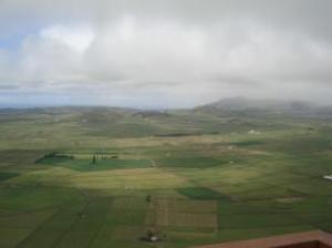 Foto 2-Isola di Terceira: questa pianura assomiglia probabilmente alla vasta pianura di Atlantide  descritta da Platone.